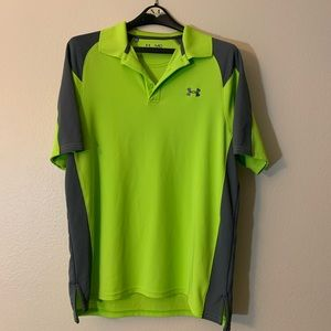 Dry-fit under armour polo shirt
